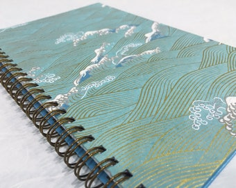 2018-2019 Small Daily Planner - Blue Part 3 - Midyear Planner - Appointment Book - CHOOSE YOUR COVER