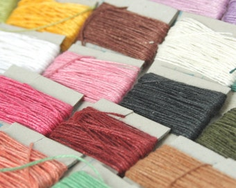 5m of Goldschild Linen Thread, non-waxed, 3-ply
