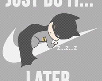 Do It Later Batman SVG