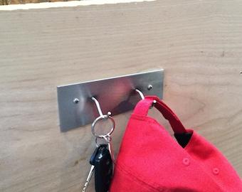 Stainless steel key holder