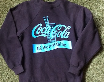 1980s Coca Cola The Real Thing Sweatshirt - Deadstock