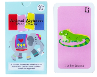 Alphabet Flash Cards, Animal Alphabet Flashcards, Toddler Flashcards, ABC Flash Cards, Flashcards for Toddlers, Alphabet Cards, Letter cards