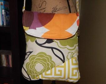 Cross body Fabric Handbag