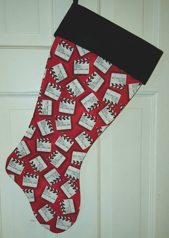 Director's Clapboard Christmas Stocking
