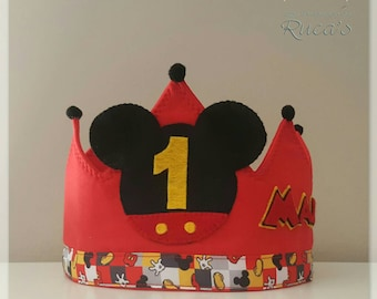 Mickey Mouse Birthday Crown