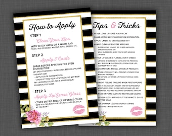 Lipsense, Tips and Tricks, Lipsense Tips, Lipsense Tricks, Lipsense Flyer, Lipsense Business, Lipsense Card
