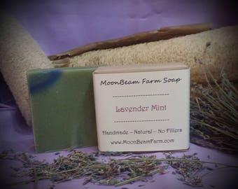 Lavender Mint Soap - Natural Handmade