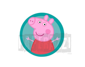 Peppa Pig SVG Electronic cutting files for Cricut Design Space - Silhouette Studio