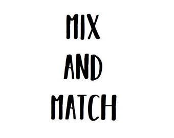 Mix and match [2 pins] - multibuy pin deal - enamel pins - mix and match pin deal