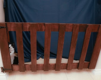Baby Gate | Pet Gate | Stair Gate | Farmhouse | Made to order
