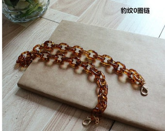 high quality vintage style resin bag chains replacement DC107