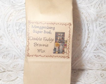 Double Fudge Brownie Mix, gift baskets, housewarming gift, Moeggenborg Sugar Bush, gifts for men, gifts for women, secret Santa gift