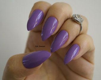 Purple stiletto nails, Nail art, Nail designs, Kylie Jenner, nails, Acrylic nails, Press on nails, Pointy nails, False nails, Fake nails