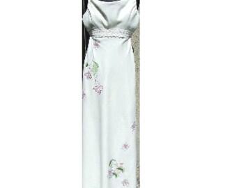 Linen Wedding Dress, Summer Dress, Maxi Dress