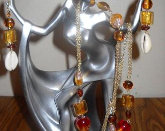 Golden Amber Necklace