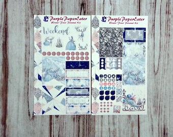 Winter Frost Personal sticker kit