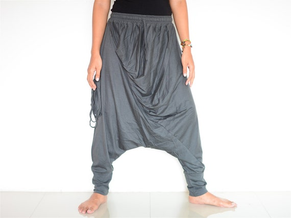 Harem pants women men, Baggy pants, Boho pants, Hippie pants, handmade item