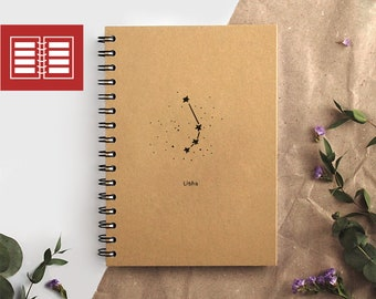weekly planner | weekly monthly planner | 2018 planner | academic planner 2018-19 | student planner 2018 2019 | zodiac planner | zodiac sign