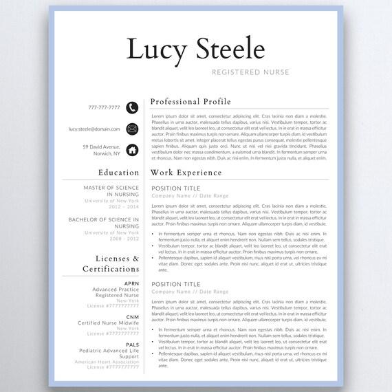 Krankenschwester Lebenslauf Vorlage 5 Seiten Eine Lebenslauf