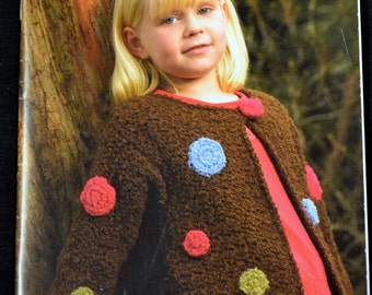 Knit and Crochet Patterns  Coats Just Knits 11 crochet and Knit Patterns Book 004