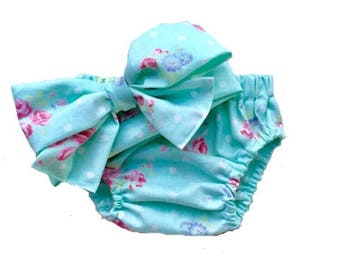 Baby Girl Diaper Cover | Baby Girl | Girl Diaper Cover | Bloomers | Baby girl Clothes | Baby Headwrap | Going Home Outfit | Girl Set