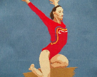 Gymnast Cross-Stitch Catalina Ponar (Romania)