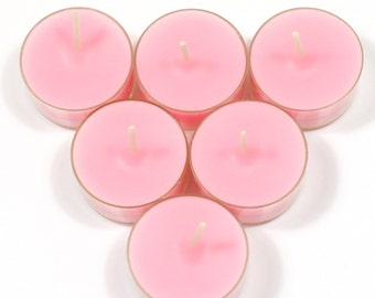 Mademoiselle Coco Handmade Premium Quality Highly Scented 6 Tea Light Candles