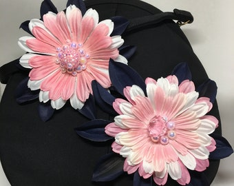 Gerber Daisies  Jeweled Corsages