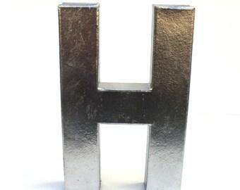 Decorative Faux Metal Letter