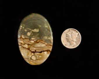 Cripple Creek Jasper Cabochon from Oregon