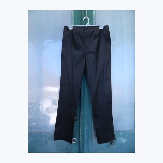 Staples Taffeta Narrow Leg Pant 4/6/10/14 Black NWT
