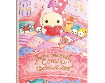 Sentimental Circus Schedule Book 2018 - Agenda  By San-X - Calendrier - A6 Size