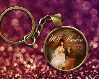 Moll Flanders Pin, Magnet, Keychain, or Necklace