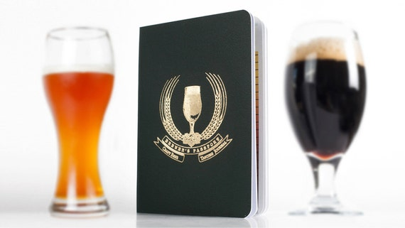 Literally the coolest--a beer passport journal. So awesome.