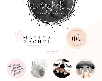 Logo design/ Branding Kit/ Branding package/ Watercolor logo design/ Business logo design, photography logo/ prem