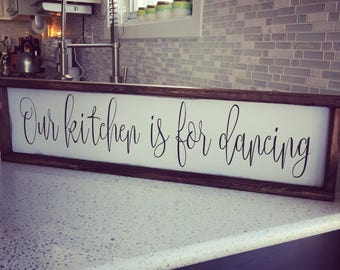 our kitchen is for dancing [FREE SHIPPING!]