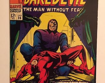 Daredevil #36 ! Apparence de Dr. Doom ! Copie génial ! Petite merveille 1968
