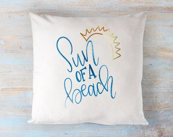 Sun Of A Beach - Hand lettered SVG