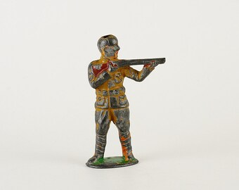 Vintage Barclay Manoil Lead Soldier Toy Rifleman -1930s