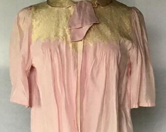 Vintage 1940s Bed Jacket