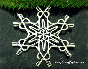 Dentist SnowWonders® Snowflake Ornament, Dentist Gift, Toothbrush Ornament, Tooth Ornament, Dental Hygienist Graduation Gift, Christmas