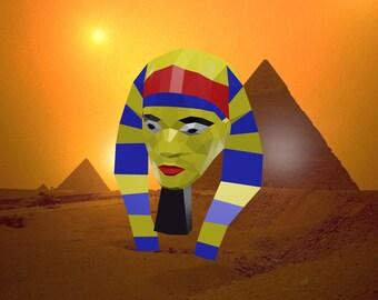 Pharaon's paper mask