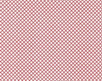 Remix - Crisscross in Crimson - Ann Kelle - Robert Kaufman (AAK-15240-91)