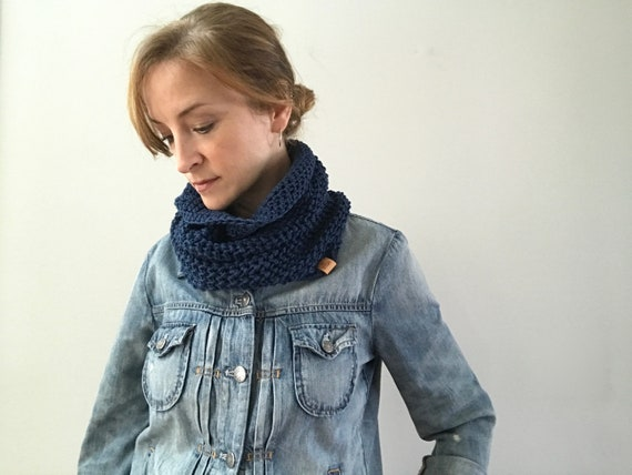 Cashmere Merino Cowl for Spring