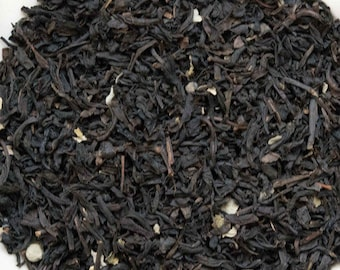 Raspberry Loose Black Tea 1 oz  loose tea with a tart flavor