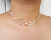 Handy Choker in Clear