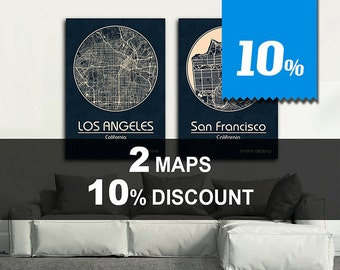 Special Offer! 2 MAPS - 10% DISCOUNT! Great deal!