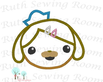Dashi Octonauts, Dashi Head,  Dashi Dog, Applique Design Instant download Machine Embroidery Applique,  This Its Not A PATCH
