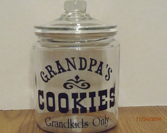 Grandpa's Cookie Jar