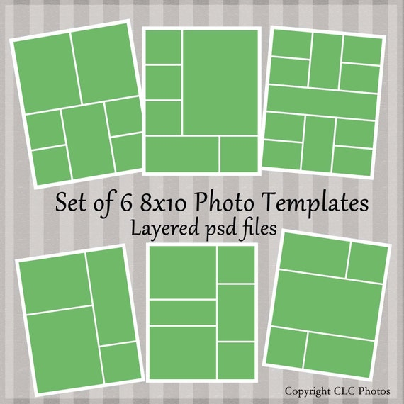8x10 template